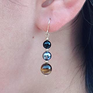 Best black and gold drop earrings Reviews