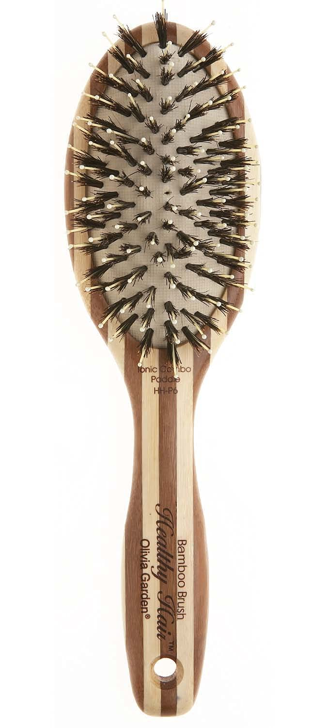 Olivia Garden Healthy Hair Eco-Friendly Bamboo Paddle New Orleans Mall Max 82% OFF Ionic
