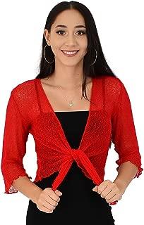 Island Style Clothing Shrug Knit Sheer Cardigan Lightweight Cruise