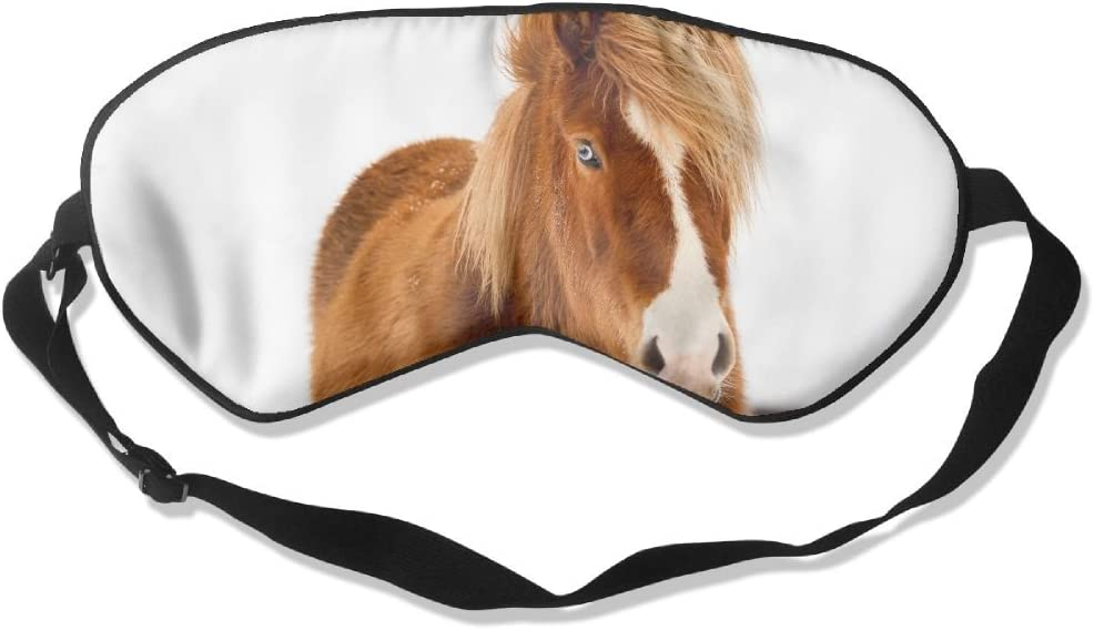 HEHE TAN Icelandic Horse Winter Sleeping Eye Popularity Ranking TOP14 Silk Mask
