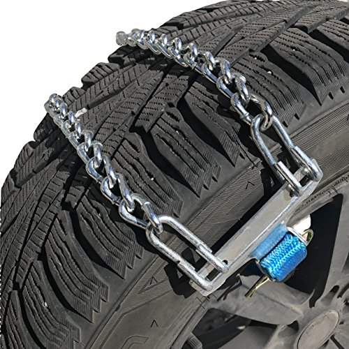 TireChain.com Tire Chains Emergency Strap for Cars and Mini-Vans Set of 2