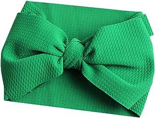 Femmes doux velours hiver Bow Bandeau Alice Band Emerald top nœud