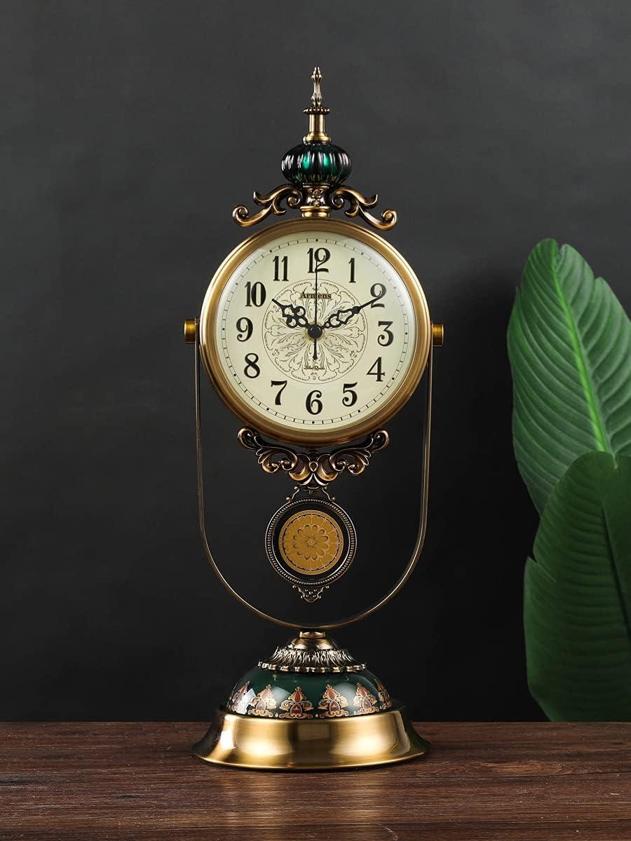 RH-ZTGY Mantel Clock Modern Cheap Ta Gorgeous Silent Wood