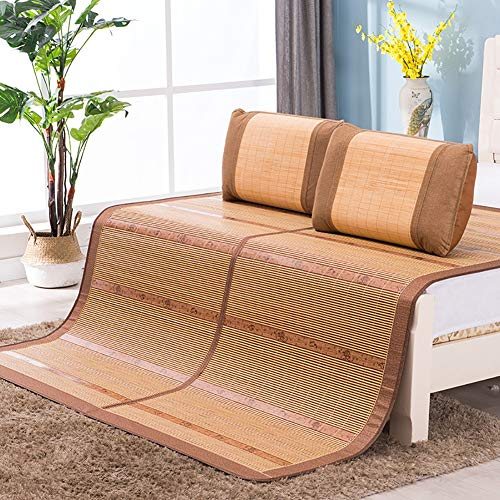 WYLF zomermatras, dubbelzijdig bruikbaar, voor bed/mat, koeling, beddengoed, frisse queen's, studenten in de slaapkamer, eenvoudige mat, hoogte 90 x 190 cm