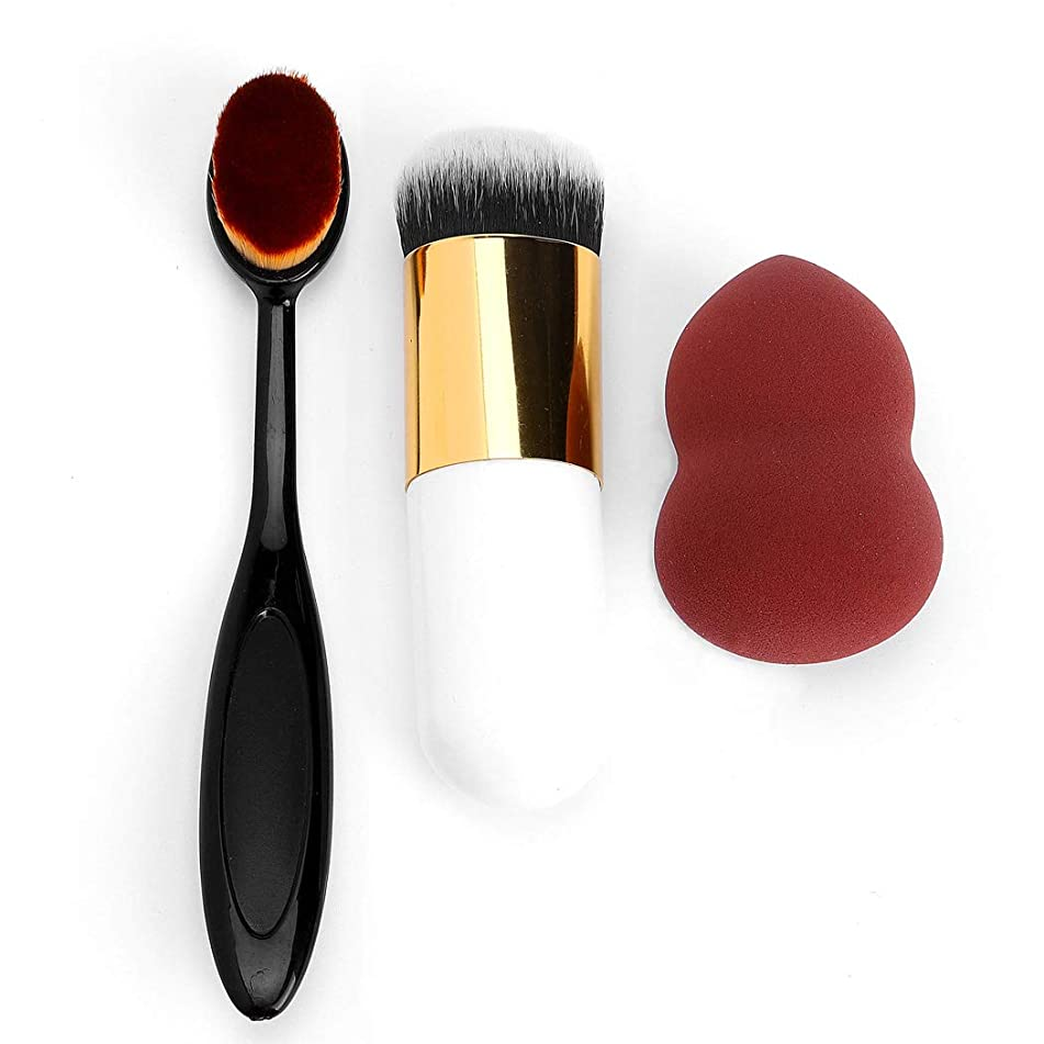 Unicra Makeup Sponge Blender Beauty Foundation Sponge Applicator with Brush for Women and Girls