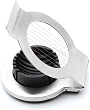 Jean-Patrique Stainless Steel Boiled Egg Slicer | Great for Egg Preparation into Salads and Sandwiches | Wire Cutter