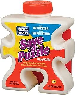 Mega Puzzles Save-a-Puzzle Glue, 8 Oz
