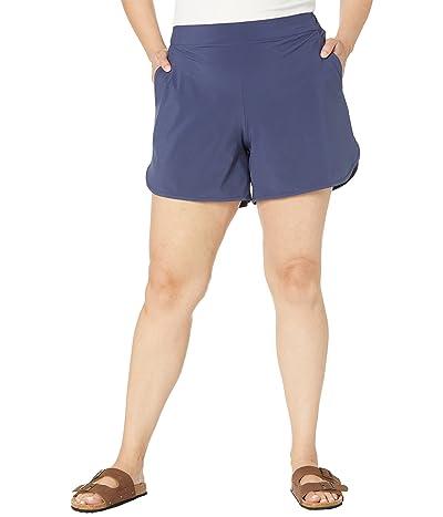 Columbia Plus Size Pleasant Creek 5 Stretch Shorts