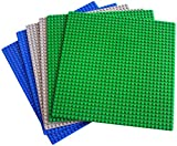 dreambuilderToy Classic Building Base Plates 32x32 pegs or 10' x 10' Baseplate - Compatible with All Major Brands (6PC)