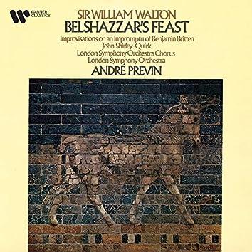 Walton: Belshazzar's Feast & Improvisations on an Impromptu of Benjamin Britten