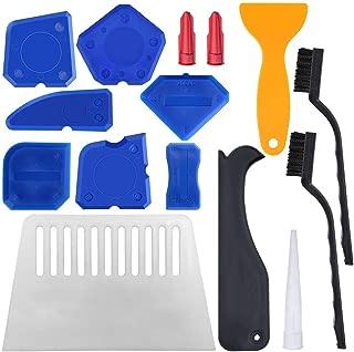 24 herramientas de calafateo YuCool, herramienta de acabado selladora para suavizar líneas de sellado, líneas de calafateo, color azul