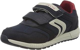 Geox J Alben Boy C, Sneakers Basses Garçon