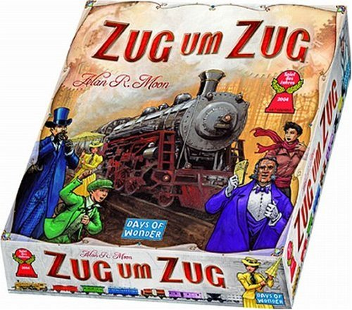 Asmodee 200060 Days of Wonder Zug um Zug Brettspiel, Deutsch