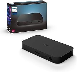 PHILIPS Hue Sync Box HDMI Play Sistema para sincronizar iluminación con Dispositivos conectados a una televisión, Negro