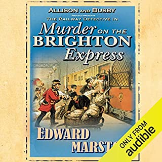 Murder on the Brighton Express audiobook cover art