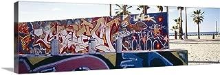 GREATBIGCANVAS Gallery-Wrapped Canvas Entitled Graffiti Venice Beach CA by 48