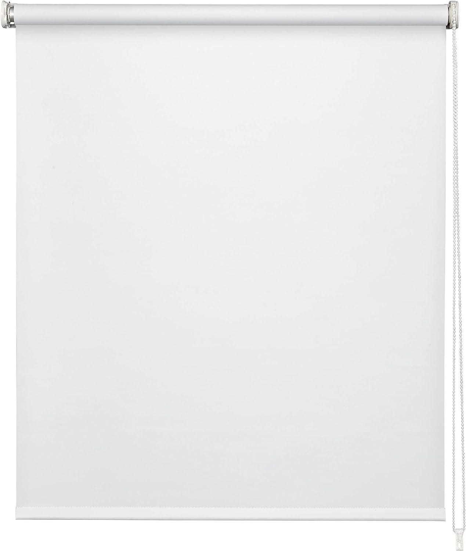 EASYDECO - Estor enrollable Blackout (Blanco, 150_x_250_cm)
