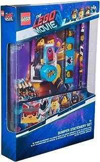 comprar comparacion Sambro LEG2-6434 Bumper Lego Movie - Juego de Accesorios para Escribir (12 Piezas, Incluye Cuaderno, Estuche y Accesorios)...