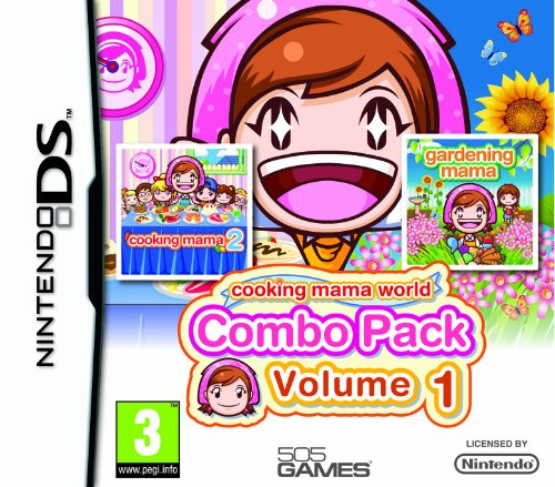 Cooking Mama Double Pack Volume 1 with Cooking Mama 2 and Gardening Mama (Nintendo DS) [UK IMPORT]
