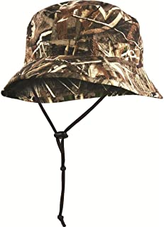 Waterproof Boonie Hat Polyester Realtree Max-5 Camo Large