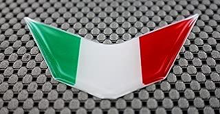 Italia Italy Flag Ducati Aprilia Decal Sticker V Emblem