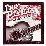 John Pearse Acoustic Guitar Strings Phosphor Bronze Slightly Light
