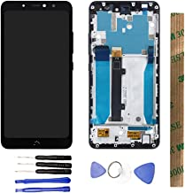 JayTong LCD Display & Replacement Touch Screen Digitizer Assembly with Free Tools for BQ Aquaris X2 Black with Frame