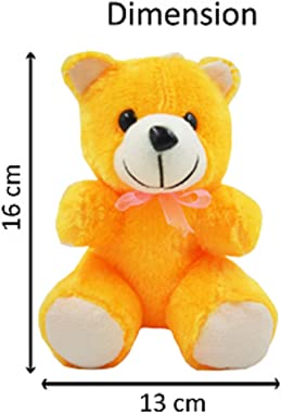ME&YOU Romantic Gifts, Surprise Teddy with Printed Mug for Wife, Girlfriend, Fiance On Valentine's Day, Birthday, Ann