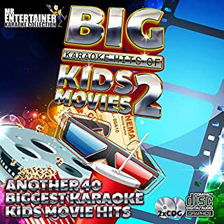 Mr. Entertainer Big Karaoke Hits: Kids Movies 2