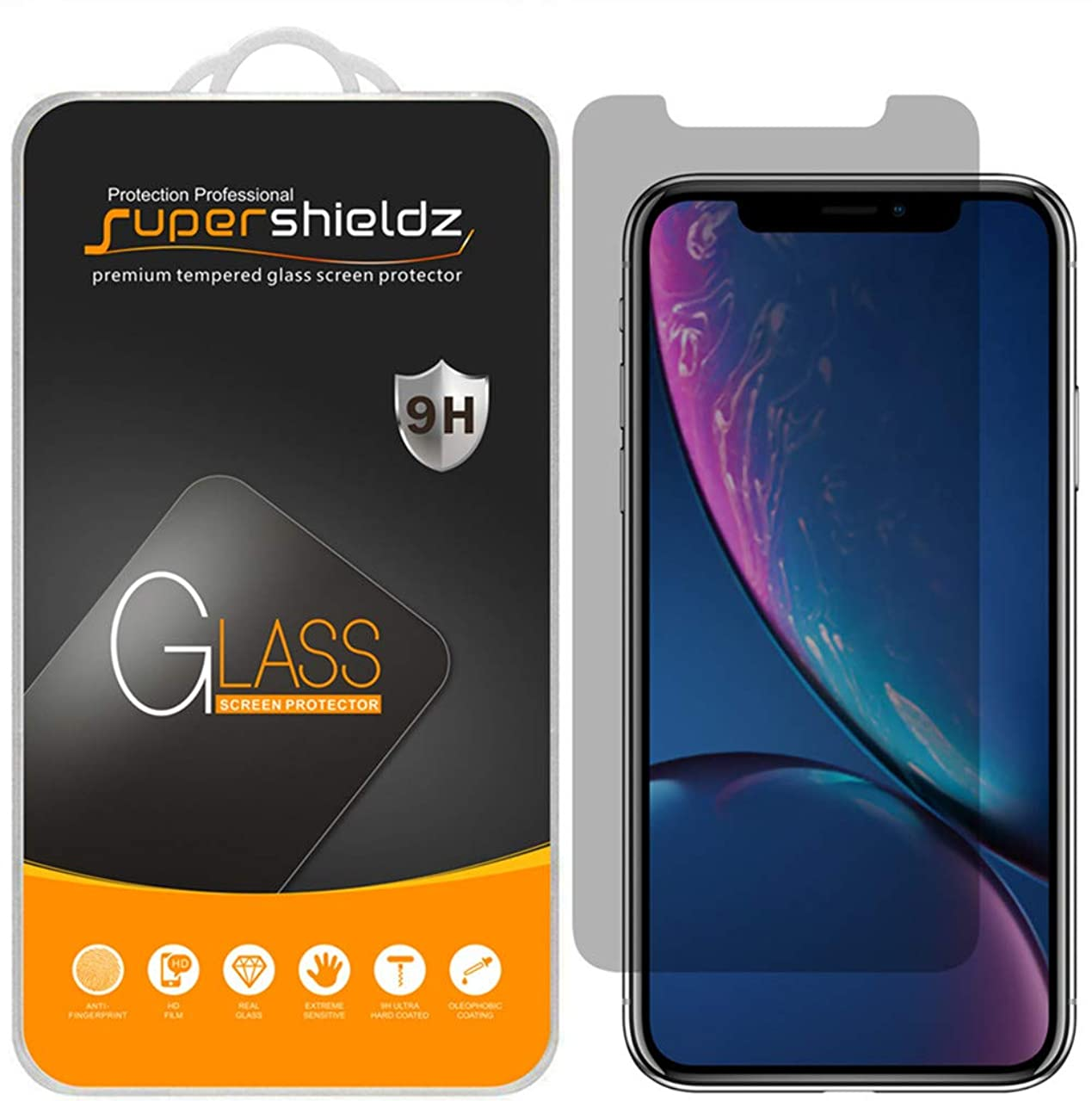 [2-Pack] Supershieldz for Apple iPhone XR (6.1