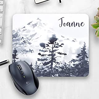 Nature office  Watercolor mouse pad  Country Office decor  Personalized Mouse Pad  Personalized office gift