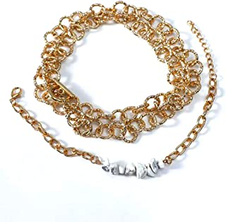 Retro thick chain set of chain bracelet with Toggle Clasp Jewelry Making Chain Bracelet Link