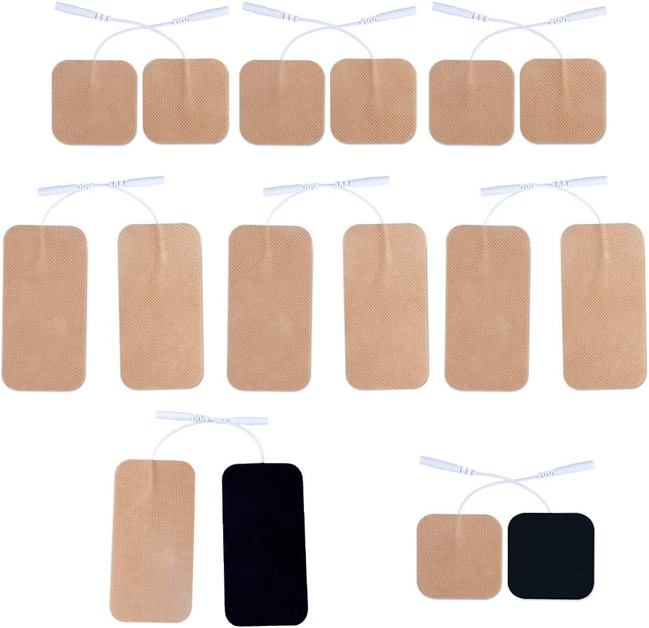 16 Pieces Translated Replacement Max 77% OFF TENS Electrodes Pads Use Tens with 700 for