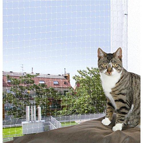 Trixie 44313 Schutznetz, 3 × 2 m, transparent - 3