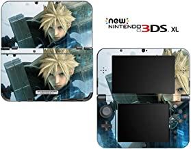 FF Cloud Decorative Video Game Decal Cover Skin Protector for New Nintendo 3DS XL (2015 Edition)