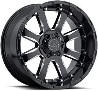 Black Rhino SIERRA Wheel with Painted Finish (17 x 9. inches /6 x 139 mm, 12 mm Offset)