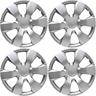 16 inch Hubcaps Best for 2007-2011 Toyota Camry - (Set of 4) Wheel Covers 16in Hub Caps Silver...