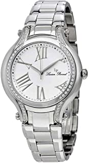 Lucien Piccard Women's 'Elisia' Quartz Stainless Steel  Watch, Color:Silver-Toned (Model: LP-16353-22-SA)