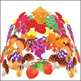 秋の装飾 秋の味覚祭2段センター W60cm 6665