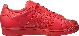 adidas superstar rosse di pelle
