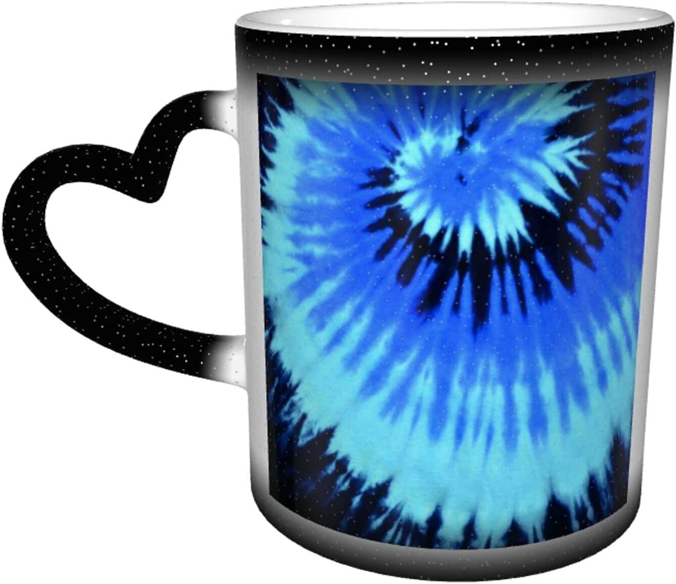 Universal Very popular Ceramic Heat Sensitive Color Coffee Cups Sale Changing Cup