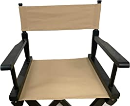 Upone Director Chair Canvas Replacement Cover Canvas Covers for 18'' Directors Chairs Director Chair Replacement Canvas, B...