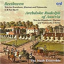Trio for Pianoforte, Clarinet & Violoncello B Flat
