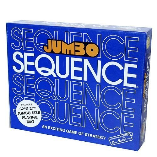 Jumbo Sequence Board Game  Includes Bonus Deck of Cards