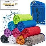 Cooling Towel für Sport & Fitness – Mikrofaser Handtuch/Kühltuch als kühlendes Handtuch für...