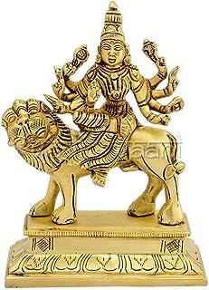 ヴェーダ ヴァニ マア シェラワリ ジャイ アンベ マタ マア ドゥルガ バワニ ヒンズー教女神 アイドール 像 ムルティ彫刻 ナヴァラトリ、デイリー プージャ & マア ドゥルガーの崇拝