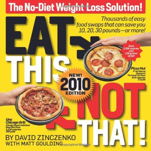 Eat This Not That 2010 The No Diet Weight Loss Solution product image