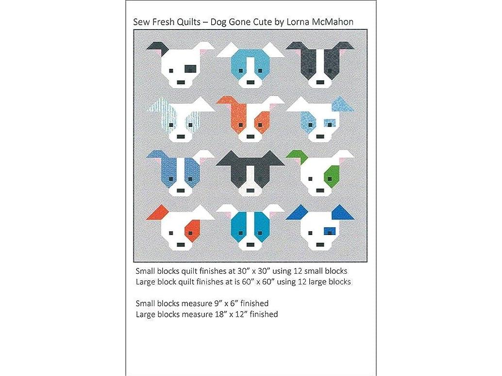Sew Fresh Quilts SFQ65079 Dog Gone Cute Ptrn Pattern