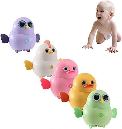 popular OPTIMISTIC Electric Chick Toys Interactive Chicken Duck Animal Toy for Toddler Magnetic Swinging Electric Crazy Chicks Boy Toy Preschool Learning Toy Electronics outlet sale Chick outlet sale Toy for Kids, Pack of 5 online