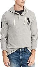 Polo Ralph Lauren Men's Mesh Cotton Long Sleeve Big Pony Hoodie